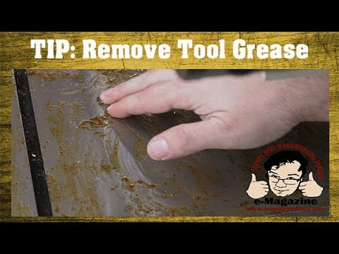 #32 BETTER WAY to remove Cosmoline-type greasy coating from new tools/machines!