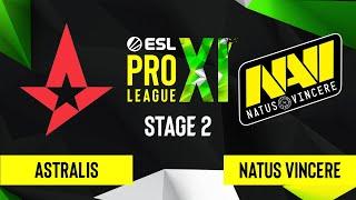 CS:GO - Astralis vs. Natus Vincere [Inferno] Map 1 - ESL Pro League Season 11 - Stage 2