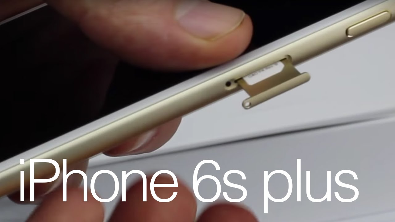 iPhone 6s Plus how to insert Sim card - 16gb 64gb 128gb