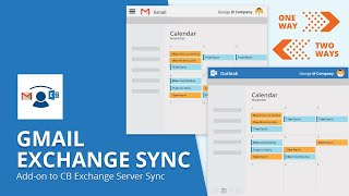Gmail Exchange Sync - An add-on to CB Exchange Server Sync