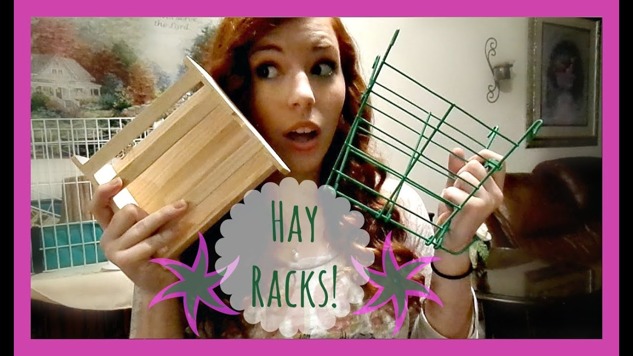 Hay Rack Options for Guinea Pigs - YouTube