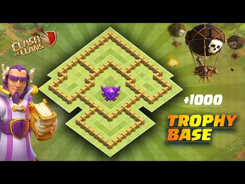 Best Town Hall 5  {TH-5} Trophy / Hybrid Base | Clash Of Clans
