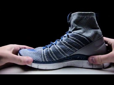 promo code b4570 b0782 Nike Free Flyknit Mercurial Wolf Grey - Unboxing