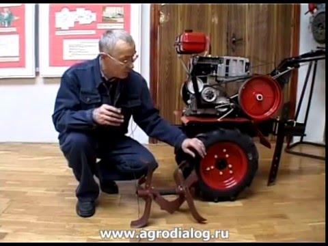 Мотоблоки КАДВИ + роторные косилки ЗАРЯ и ЗАРЯ-1