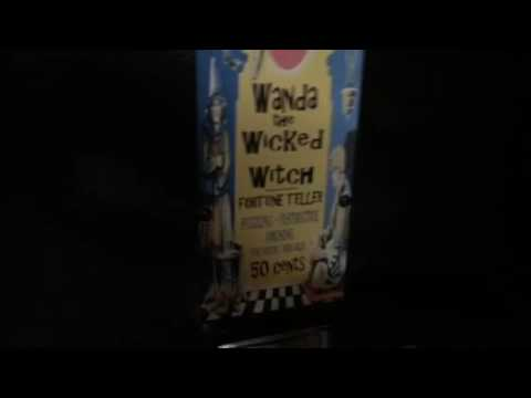 Fortune Teller Arcade Machine Wanda The Wicked Witch