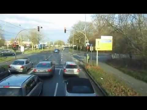 [Video] Buslinie S30 der Verkehrsgesellschaft Kreis Unna GmbH, Kamen im Jahr 2014