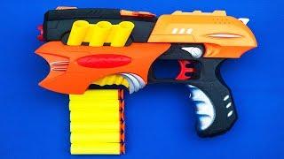 Realistic Gun Toys Gun Toys for Kids Unboxing Gun Learn Colors with Gun Kids Nursery Rhymes Songs