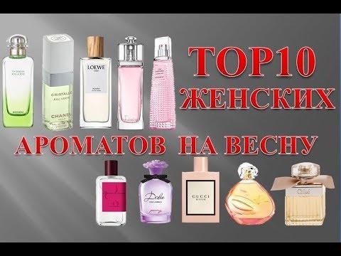 Top 10 женских ароматов на весну