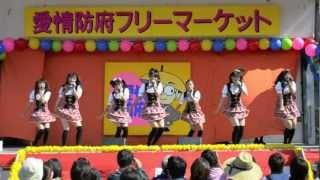 山口県のご当地アイドルの「山口活性学園」アイドル部 2012/10/20(土)...
