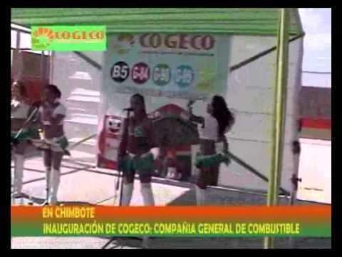 Inauguración del grifo COGECO en Chimbote (parte 2 de 3)