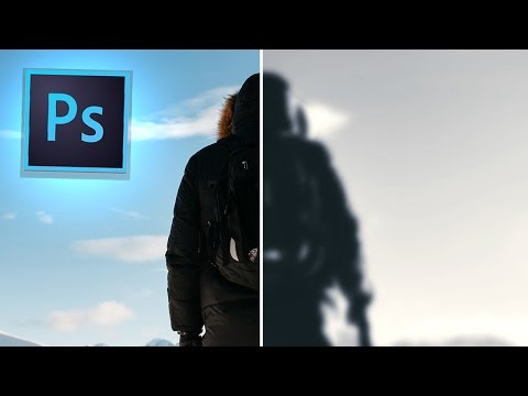 Photoshop CC Tutorial: How to create a Before & After Split Style Image