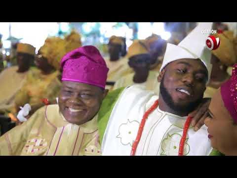Ovation Platinum Wedding Between Sarat Oluwakemi Lawal & Damilola Onasanya