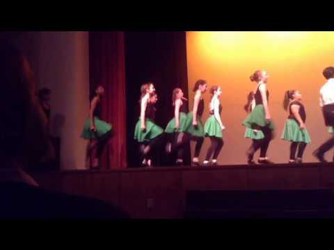 Glenfield Middle School Irish Step Dancing 2016
