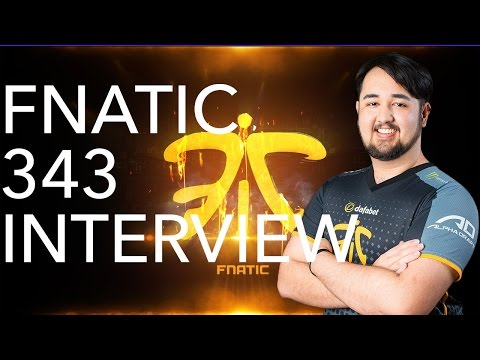 "Fnatic 343 interview on ""How to be a Pro E-Sports player"" 