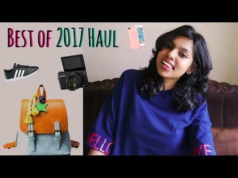 Best Haul 2017 | Yearly Favorites 2017 - Best Shoes, Bags & Electronics | AdityIyer