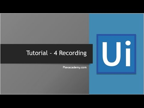 UiPath - Recording