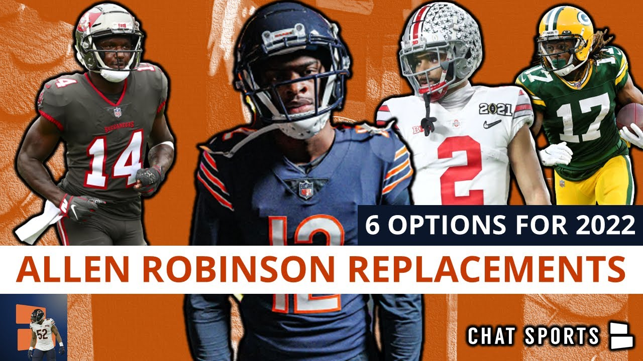 Allen Robinson Replacements: 6 WRs The Chicago Bears Could Replace Him With In 2022 Ft Davante Adams