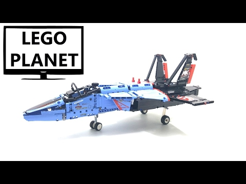 lego technic air race jet set no 42066 2017 speed build. Black Bedroom Furniture Sets. Home Design Ideas