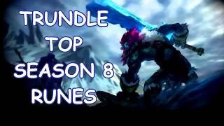 Trundle Top S8 Runes