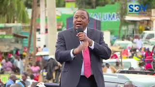 President Kenyatta gives stern warning to area chiefs and parents