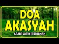 doa akasyah - majmu syarif - arab latin terjemah