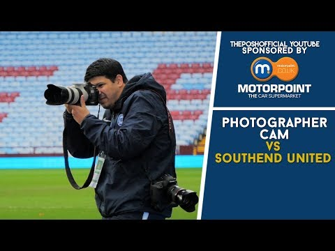 PHOTOGRAPHER CAM | vs Southend United