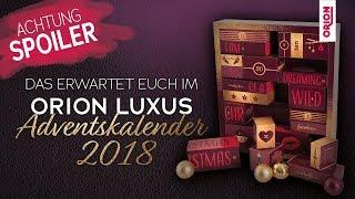 Unboxing: Das steckt im ORION Luxus-Adventskalender 2018 (ACHTUNG: Spoileralarm!)