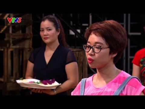 Vua đầu bếp 2014 - Tập 4 - Gỏi xu hào thịt trâu - Khánh Phương