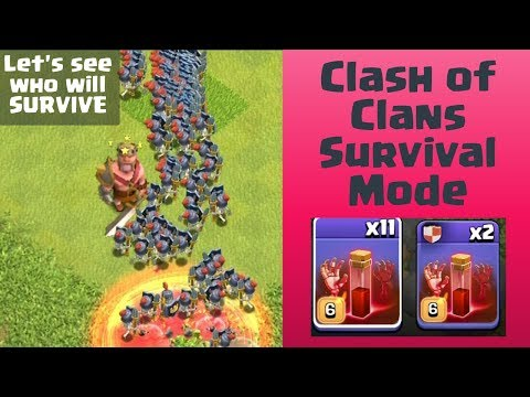 Skeleton Apocalypse | Every Troops VS Skeleton Spell | Clash Of Clans
