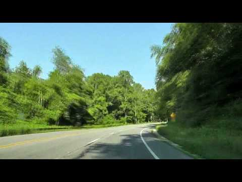 US-33 West, Spotswood trail, Central Virginia