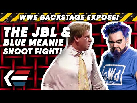 The TRUE STORY Behind JBL And Blue Meanie WWE SHOOT FIGHT! | WWE Backstage Expose