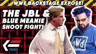 The TRUE STORY Behind JBL And Blue Meanie WWE SHOOT FIGHT!   WWE Backstage Expose