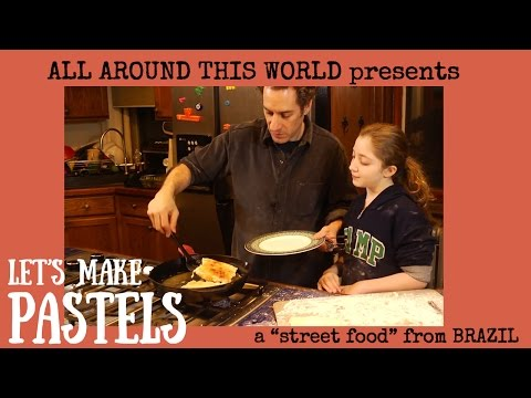 """Brazil for Kids -- How to Make a Brazilian """"Street Food"""" -- All Around This WorldB"""
