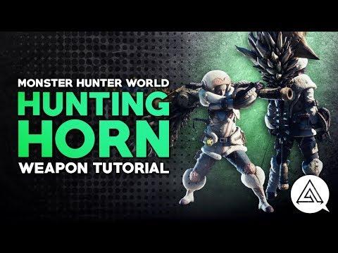 Monster Hunter World   Hunting Horn Tutorial