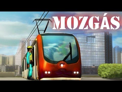 Cities in Motion 2 gameplay (HUN) - Mozgás