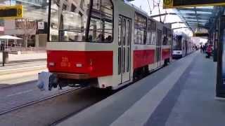 Wochenkurier Dresden - alte Tatra-Straßenbahn in Dresden