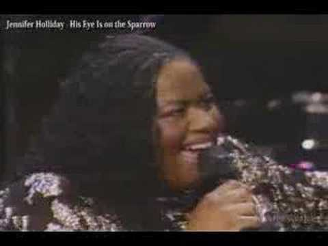 Jennifer Holliday / His Eye Is on the Sparrow