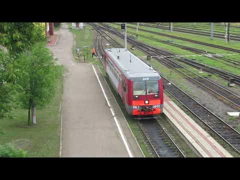 Пригородные поезда Великие Луки – Нелидово, РА1-0023, РА1-0012