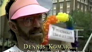 WZZM story on Pride 1990