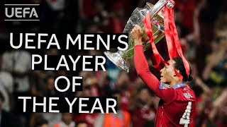VIRGIL VAN DIJK: UEFA Men's Player of the Year 2018/19