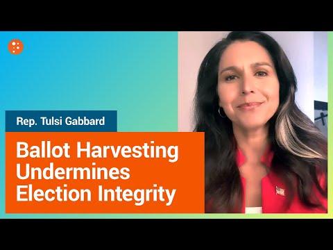 Ballot Harvesting Undermines Election Integrity