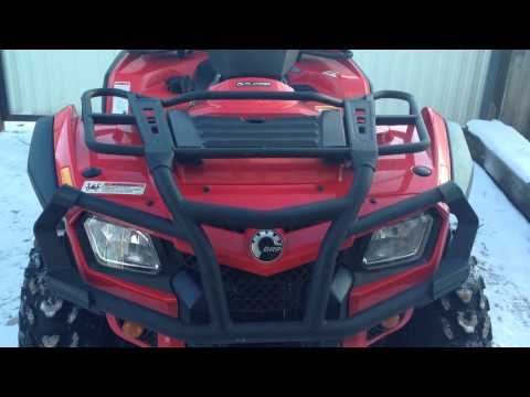 Обзор квадроцикла Can-am outlander 400