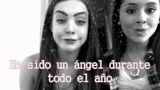 Ariana Grande - Santa Baby (Traducida al español) ft Elizabeth Gillies