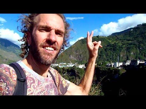 A Walking Tour of Baños, Ecuador: Hiking, Hot Springs & Waterfalls!