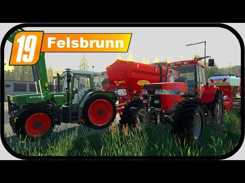 LS19 Felsbrunn #1 - Mit dem FENDT 500 und CASE 7200 PRO | LANDWIRTSCHAFTS SIMULATOR 19