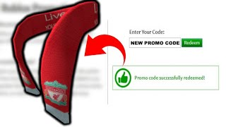 🔥NOUVEAU CODE PROMO POUR L'ÉCHARPE LIVERPOOL FC!🔥 Événement Liverpool FC (fr) Événement Roblox