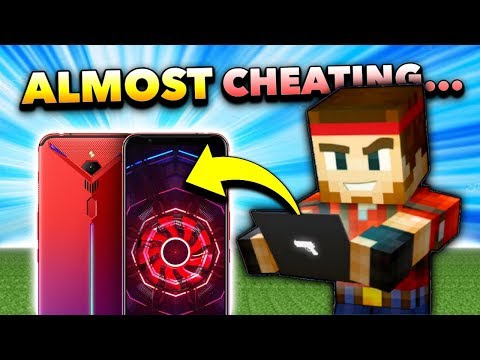 ALMOST CHEATING... | This Phone Makes You A PRO In Pixel Gun 3D!! [New Update]