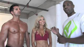 Flavia Del Monte, Cover Shoot With FitnessX