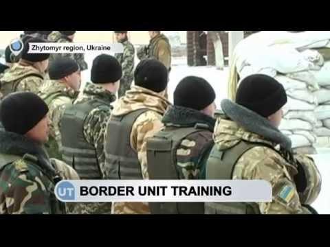 Elite Ukrainian Border Guard: Special border unit trained to go to east Ukraine frontline