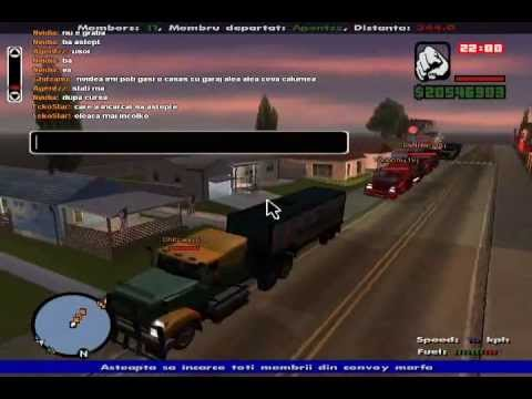 Sa-Mp Romania Star Trucking Game
